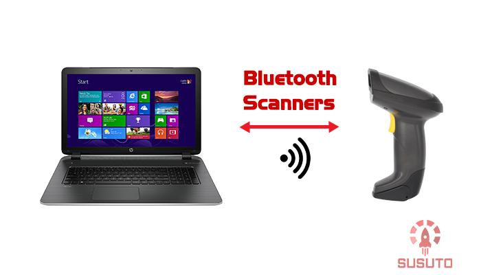 Máy quét mã vạch không dây Bluetooth không cần dùng đến thiết bị ghép nối